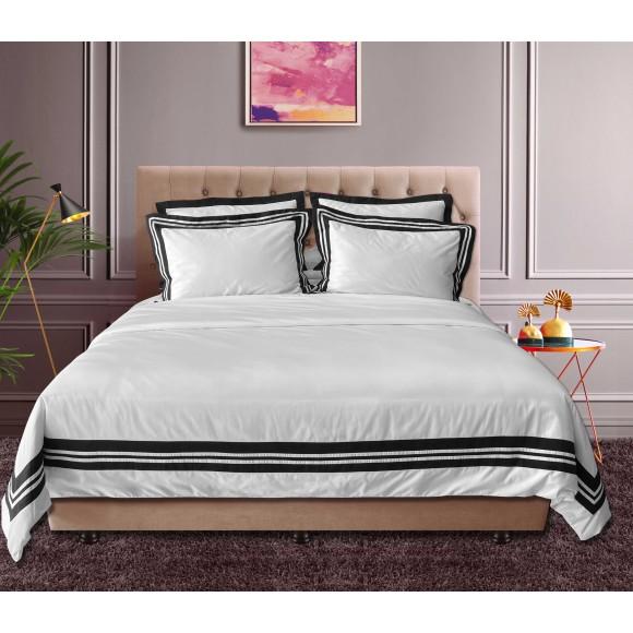 Nina MG Bed Sheet Set - Anatolia / Black