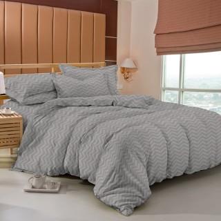 Tomomi Bed Cover Set  - Aimi / Stone