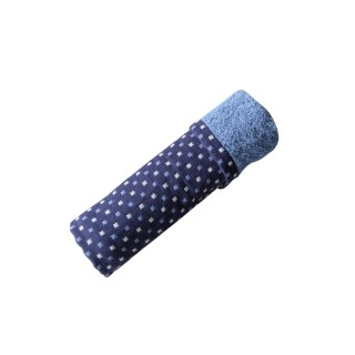 Nina MG Hand Towel - Spot / Blue