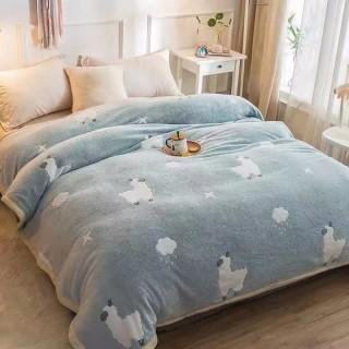 Tomomi Blanket Fleece Kids - Alpaka