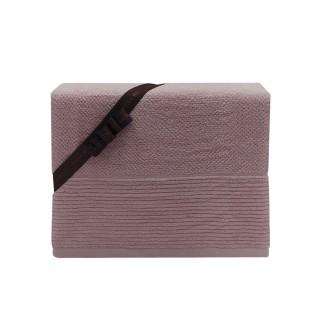 Nina MG Bath Towel - Linee / Smokey Mauve