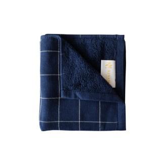 Nina MG Face Towel - Metric / Navy