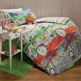 Aussino Kids Quilt Cover Set - Mom and Me