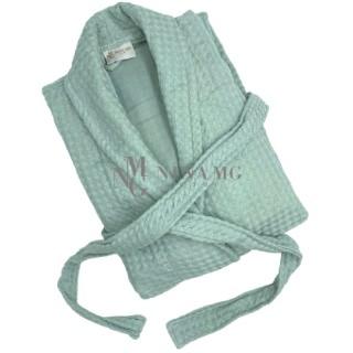 Nina MG Bath robe - Waffle / Tosca