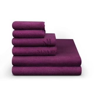 Nina MG Hand Towel - Violet