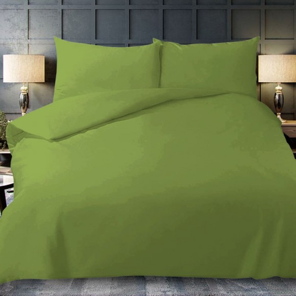 Miracle Dream Bolster Case Pair - Lime Green