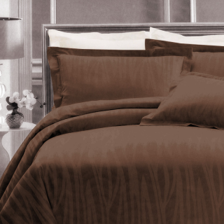 Aussino Loft Quilt Cover Set - Zelia / Taupe
