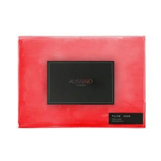 Aussino Contempo Euro Pillow Case - Pointsettia