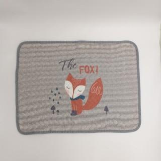 Tomomi Bath Mat - Brown Fox