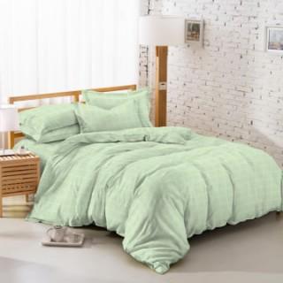 Tomomi Bed Cover Set - Osaka / Pear Green