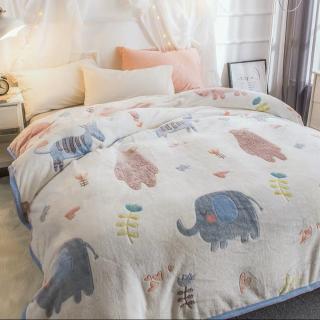 Tomomi Blanket Fleece - Animal