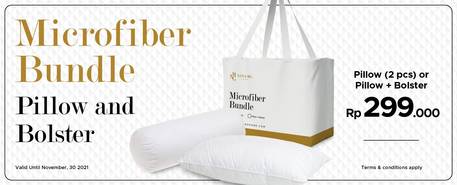 Bundle Pillow Bolster