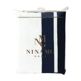 Nina MG Pillow Case Pair/Belmont Navy