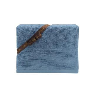 Nina MG Bath Towel - Linee / Bluestone