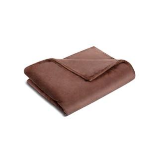 Nina MG Blanket - Fleece / Brown