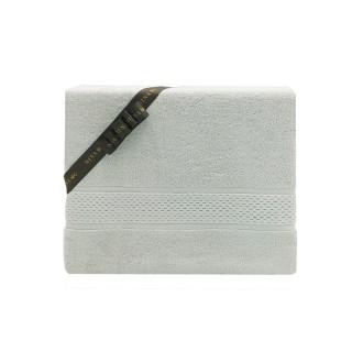 Nina MG Bath Towel - Napa / White