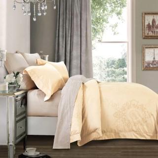 Nina MG Bed Sheet Set - Piero / Light Brown