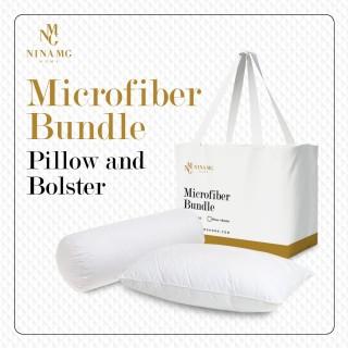 Bundle Nina MG Pillow  & Bolster - Microfibre