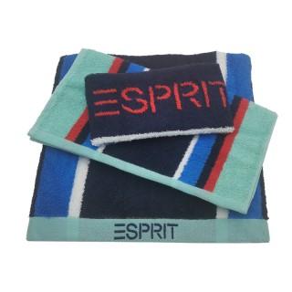 Esprit Bath Towel Sets - TB32 / Blue